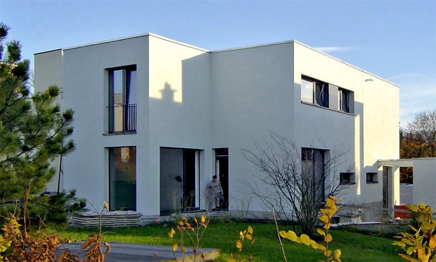 Neubau Niedrigenergiehaus in Weimar